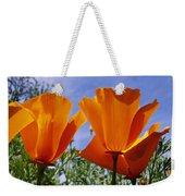 California Poppies Eschscholtzia Weekender Tote Bag