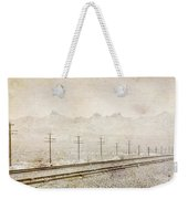 California Railroad Weekender Tote Bag