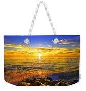 California Sunset Weekender Tote Bag