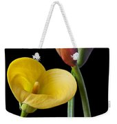Calla Lilies Still Life Weekender Tote Bag by Garry Gay