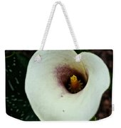 Calla Lily Candle Center Weekender Tote Bag