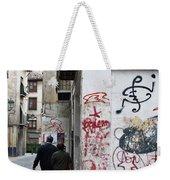 Calle Alvaro De Bazan Graffiti Weekender Tote Bag