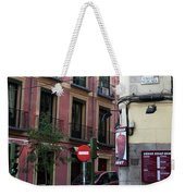 Calle De Vergara Madrid Weekender Tote Bag