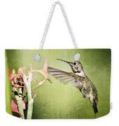 Calliope Hummingbird  Weekender Tote Bag