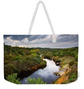 Calm River Weekender Tote Bag by Carlos Caetano