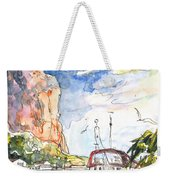 Calpe Harbour 04 Weekender Tote Bag