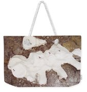 Camarasaurus Vertebrae Covered Weekender Tote Bag
