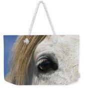 Camargue Horse Equus Caballus Eye Weekender Tote Bag