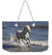 Camargue Horse Equus Caballus Running Weekender Tote Bag