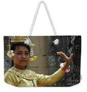 Cambodian Dancer Weekender Tote Bag