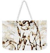 Camel Weekender Tote Bag