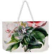 Camellia And Broom Weekender Tote Bag
