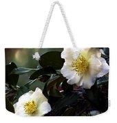 Camellia Nineteen Weekender Tote Bag