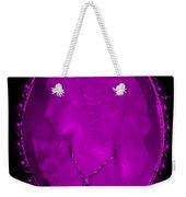 Cameo In Purple Weekender Tote Bag