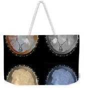 Cameo In Quad Colors Weekender Tote Bag
