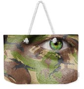 Camouflage Warrior Weekender Tote Bag