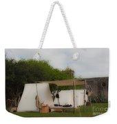 Camp At Goliad Weekender Tote Bag