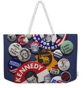 Campaign Buttons Weekender Tote Bag