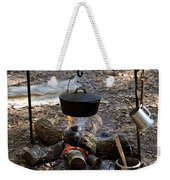 Campfire Cooking Weekender Tote Bag