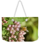 Camphorweed Wildflowers And Honey Bee Weekender Tote Bag