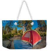Camping In The Forest Weekender Tote Bag