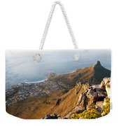Camps Bay Weekender Tote Bag by Fabrizio Troiani
