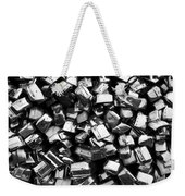 Can You Guess What This Is    Bw Weekender Tote Bag