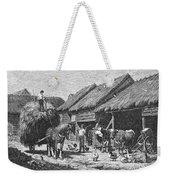 Canada: Farming, 1883 Weekender Tote Bag
