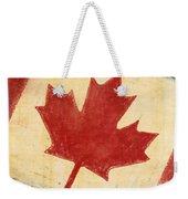 Canada Flag Weekender Tote Bag