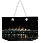 Canada Place Convention Center Weekender Tote Bag