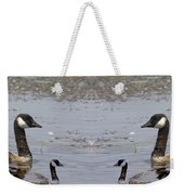 Canadian Goose Symmetry Weekender Tote Bag
