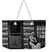 Canadian Gothic Monochrome Weekender Tote Bag by Steve Harrington