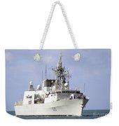 Canadian Navy Halifax-class Frigate Weekender Tote Bag