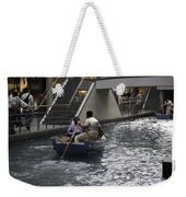 Canal Running Through The Length Of The Shoppes Running Under Th Weekender Tote Bag