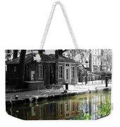 Canal Saint Martin Weekender Tote Bag
