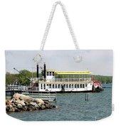 Canandaigua Lady Paddleboat Weekender Tote Bag