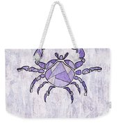 Cancer Artwork Weekender Tote Bag