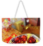 Candle And Balls Weekender Tote Bag