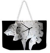 Candle Clock Weekender Tote Bag