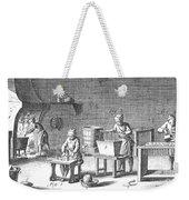 Candlemaking, 18th Century Weekender Tote Bag