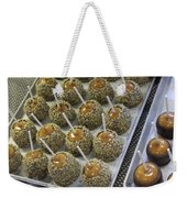 Candy Apples Weekender Tote Bag
