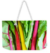 Candy Color Greens Weekender Tote Bag by Susan Herber