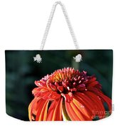 Candy Corn Cone Flower Weekender Tote Bag