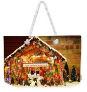 Candy Gingerbread House Weekender Tote Bag