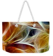 Candy Lily Fractal Panel 3 Weekender Tote Bag