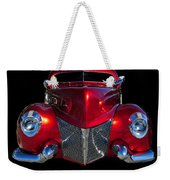Candy Red Weekender Tote Bag