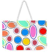 Candy Spots Weekender Tote Bag by Louisa Knight