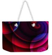 Candy Swirls Weekender Tote Bag