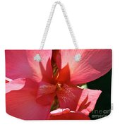 Canna Lily Close Up Weekender Tote Bag
