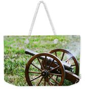 Cannon Fire Weekender Tote Bag